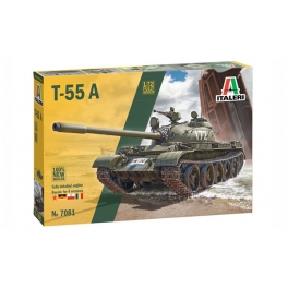 Italeri 7081 Char soviétique T-55