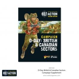 Warlord 401010015 Livret Campagaign D-Day : British & Canadian Sectors