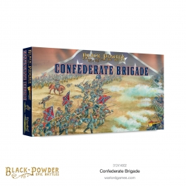 Warlord 312414002 Epic Battles Brigade des Confédérés