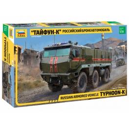Zvezda 3701 Camion blindé russe Typhoon-K