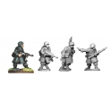 Artizan Designs SWW022 German NCOs and LMG in Greatcoats