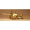 Artizan Designs SWW853 German PaK40 gun with crew in Winter uniforms
