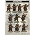 Artizan Designs SWWB06 Late War American Infantry Squad in Greatcoats