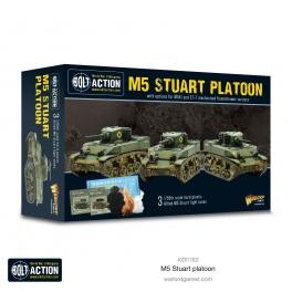 Warlord 402011302 Platoon M3 Stuart