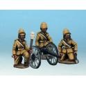 Artizan Designs NWF0501 Mountain Gun and Crew (British)