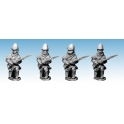 Artizan Designs NWF0011 British Infantry Kneeling. In Poshteens.