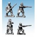 Crusader Miniatures ACW003 ACW Infantry in Frock Coat and Kepi Skirmishing