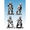 Crusader Miniatures ACW005 ACW Infantry Command in Frock Coats and Kepi