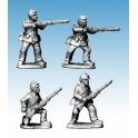 Crusader Miniatures ACW013 ACW Infantry in Jacket and Kepi Skirmishing