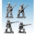 Crusader Miniatures ACW023 ACW Infantry in Shirt & Kepi Skirmishing