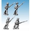 Crusader Miniatures ACW032 ACW Infantry Shirt & Hat Adv./ Charging