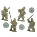 Crusader Miniatures DAS004 Saxon Fyrd Command