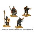 Crusader Miniatures DAS008 Saxon Huscarl/Thegn Command