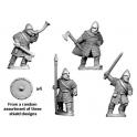 Crusader Miniatures DAV008 Hirdmen Command