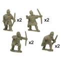 Crusader Miniatures DAS001 Saxon Bowmen
