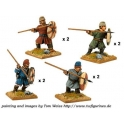 Crusader Miniatures DAS003 Saxon Fyrd with Spears/Javelins