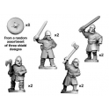 Crusader Miniatures DAV001 Bondi with swords & axes