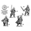 Crusader Miniatures DAV006 Hirdmen with Swords/Axes