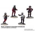 Crusader Miniatures MEW001 Unarmoured Pikemen