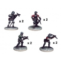 Crusader Miniatures MEW007 Crossbowmen