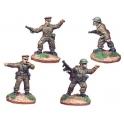 Crusader Miniatures WWB005 British Infantry Command