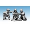 Crusader Miniatures WWB210 British paratrooper Vickers MMG & 3 crew