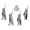 Crusader Miniatures RFH023 Napoleonic French - Grenadier Company in Bearskins