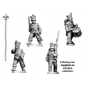 Crusader Miniatures RFH024 Napoleonic French - Command in Shako