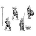 Crusader Miniatures RFH025 Napoleonic French - Command in Bicorne