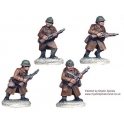 Crusader Miniatures WWF004 French Infantry with Carbines