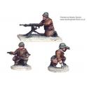 Crusader Miniatures WWF010 French Hotchkiss HMG (1 HMG. 3 crew)