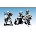 Crusader Miniatures WWF060 French M/C Troop Hotchkiss HMG