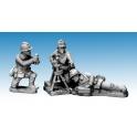 Crusader Miniatures WWF081 Dragon Portes 60mm Mortar & Crew