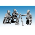 Crusader Miniatures WWF082 Dragon Portes 80mm Mortar & Crew