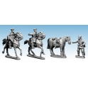 Crusader Miniatures WWG075 Mounted Cossack Command (German Service)