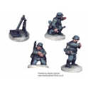 Crusader Miniatures WWG011 German 80mm Mortar (1 Mortar, 3 crew)