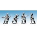 Crusader Miniatures WWG073 Cossack Command (German Service)