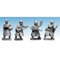 Crusader Miniatures WWG175 German Infantry in Greatcoats (Command)