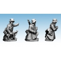 Crusader Miniatures WWG182 German Infantry in Greatcoats (Mortar)