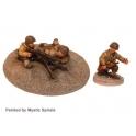 Crusader Miniatures WWU010 US .30Cal MMG & Crew (1MMG, 3 crew)