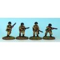 Crusader Miniatures WWU022 US Airborne Riflemen II