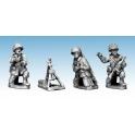 Crusader Miniatures WWU031 US Airborne 60mm Mortar Team