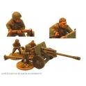 Crusader Miniatures WWR050 Russian 76mm A/T Gun & 3 Crew
