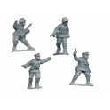 Crusader Miniatures WWR005 Russian Infantry Command