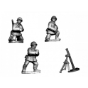Crusader Miniatures WWR033 Russian Mortar (Winter Kit)