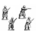 Crusader Miniatures WWR036 Russian Infantry in Greatcoats II