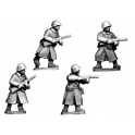 Crusader Miniatures WWR038 Russian SMG Infantry in Greatcoats