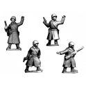 Crusader Miniatures WWR039 Russian Command in Greatcoats