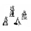 Crusader Miniatures WWR041 Russian Mortar (crew in Greatcoats)