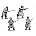 Crusader Miniatures WWR042 Russian Infantry in Coats and Fur Hats